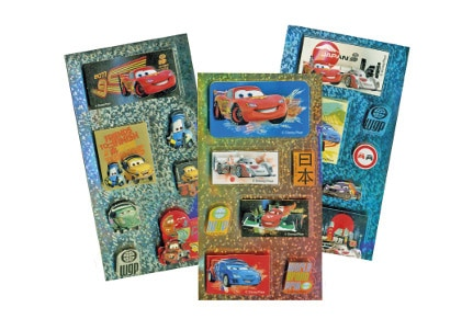 Αυτοκόλλητα GIM 2D Funny Disney Cars 2
