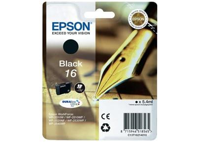 Μελάνι Μαύρο Epson WorkForce T1621
