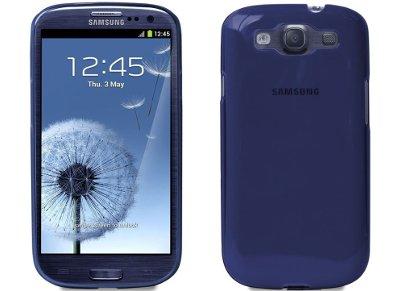 Θήκη Samsung Galaxy S3 - Puro Crystal Case Μπλε (SGS3CRYBLUE)
