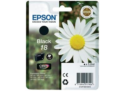 Μελάνι Μαύρο Epson T1801