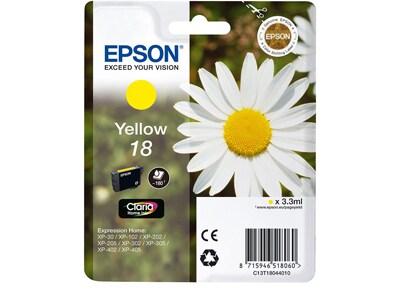 Μελάνι Κίτρινο Epson T1804