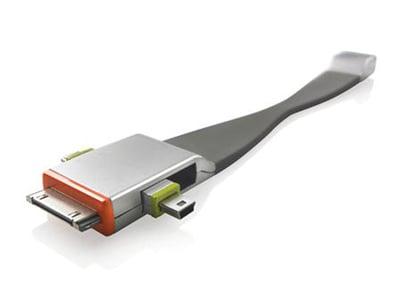 Αντάπτορας USB to MiniUSB/MicroUSB/apple 30pin XD Design P302.002