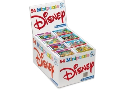 Puzzle Clementoni Super Color Disney: Μίνι Disney 54 κομμάτια (1 τεμάχιο) (1200-21038)