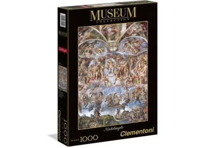 Puzzle Clementoni Museum Collection: Michelangelo, Guidizio Universale 1000 κομμάτια (1260-39250)