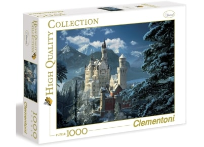 Puzzle Clementoni High Quality Collection: Χιονισμένο Κάστρο 1000 κομμάτια (1220-31390)