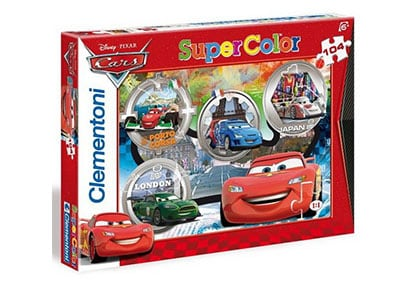 Puzzle Clementoni Super Color Disney: Cars 104 Κομμάτια