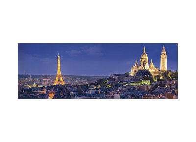 Puzzle Clementoni High Quality Collection Πανόραμα Soiree a Paris 1000 Κομμάτια