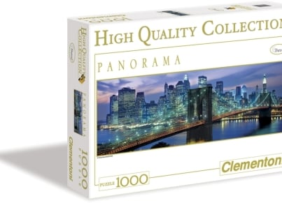 Puzzle Clementoni High Quality Collection: Panorama Γέφυρα Brooklyn 1000 κομμάτια (1220-39209)