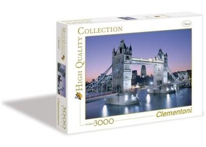 Παζλ Η Γέφυρα του Λονδίνου - High Quality Collection Clementoni - 3000 Κομμάτια