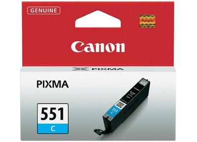 Μελάνι Κυανό Canon CLI-551 6509B001
