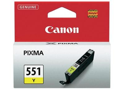 Μελάνι Κίτρινο Canon CLI-551 (6511B001)