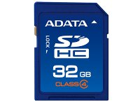 Κάρτα μνήμης SDHC 32GB Class 4 - Adata ASDH32GCL4-R