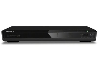 Sony DVP SR370 - DVD Player - Μαύρο