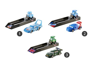 Disney Cars Εκτοξευτής (Y7886) (3 Σχέδια)