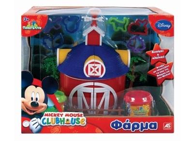 Μεγάλο Σετ Πλαστελίνης Φάρμα Mickey Mouse AS 1045-03520