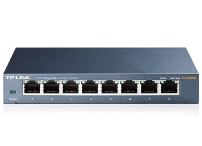 Διανομέας Δικτύου TP-Link TL-SG108 - 8 Port Gigabit Network Switch