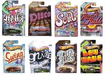 Hot Wheels Jukebox Αυτοκινητάκια - 1 τεμάχιο (Υ9368)