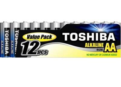 Μπαταρία Toshiba  Alkaline AA LR6 FIMP12