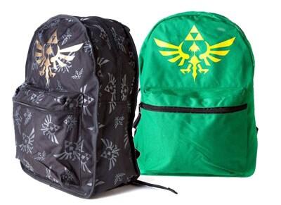 Τσάντα Πλάτης Διπλής Όψης Nintendo Zelda 706857008 - Πράσινο/Μαύρο