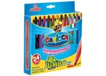 Μαρκαδόροι Carioca Jumbo 5mm 24 τεμάχια