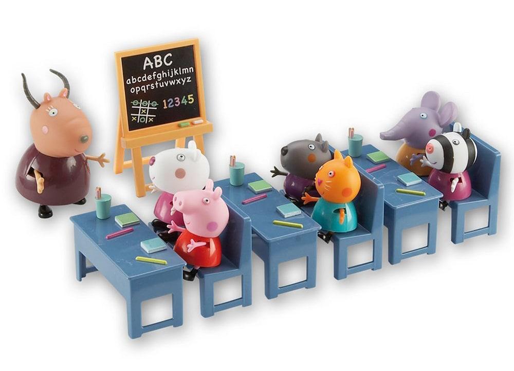 Η σχολική τάξη της πέππα με 7 φιγούρες