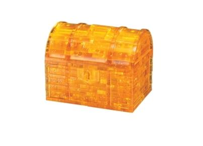3D Παζλ Yellow Treasure Box (52 Κομμάτια)