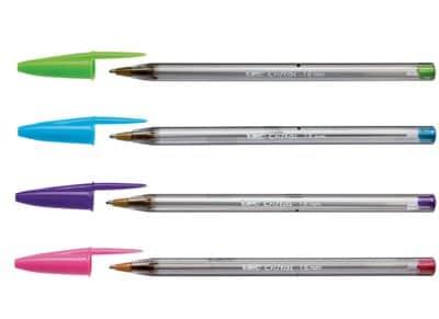 Στυλό Διαρκείας BIC Cristal Fashion (1 Τεμάχιο)