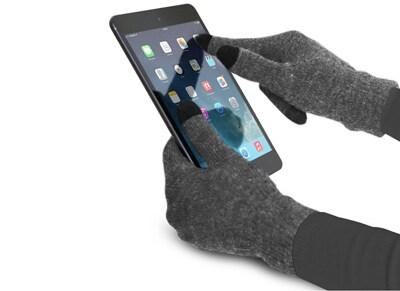 SBS Touch Gloves Medium Γκρι Γάντια για οθόνη αφής TE0UGT1MG