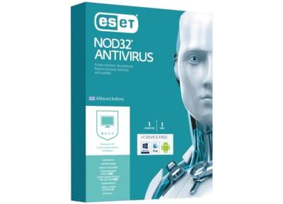 Eset NOD32 Antivirus - 1 έτος (1 άδεια + 1 δώρο)