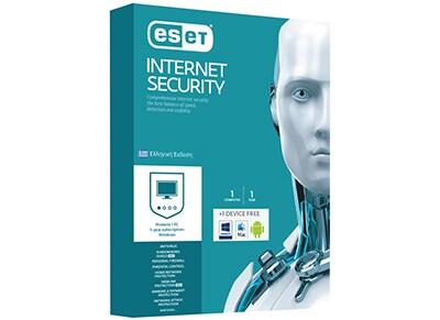 Eset Interntet Security - 1 έτος (1 άδεια + 1 δώρο)