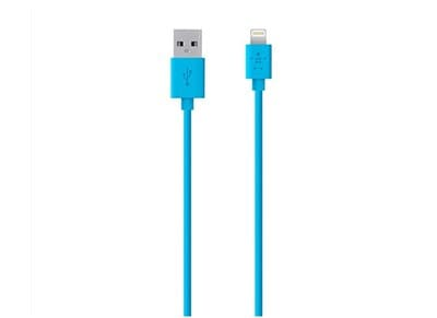 Καλώδιο Lightning to USB 1.2m - Belkin Mix It F8J023BT04-BLU Μπλε apple   αξεσουάρ iphone   φορτιστές   καλώδια