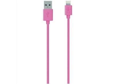 Καλώδιο Lightning to USB 1.2m - Belkin Mix It F8J023BT04-PNK Ροζ apple   αξεσουάρ iphone   φορτιστές   καλώδια