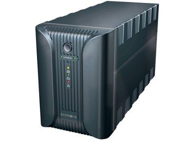 Bitmore Line UPS 1200VA Σύστημα UPS Ανθρακί