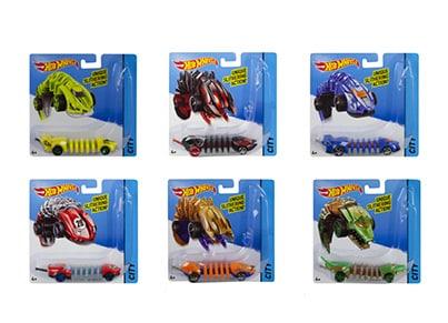 Hot Wheels Οχήματα Σκουλήκια (BBY78)