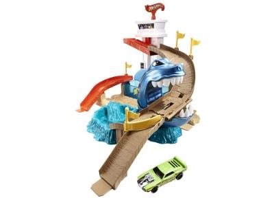 Hot Wheels Color Shifters Απόβαση στην Αποβάθρα Sharkport Showdown Mattel BGK04