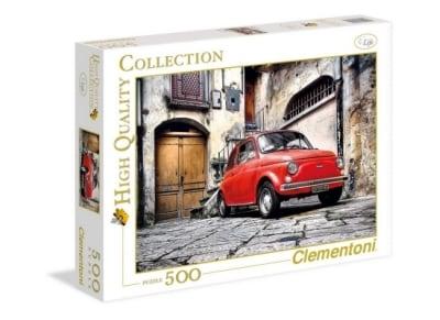 Παζλ FIAT 500 Clementoni High Quality - 500 Κομμάτια