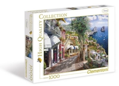 Puzzle Clementoni High Quality Collection Capri 1000 Κομμάτια