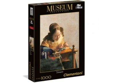 Puzzle Clementoni Museum Collection Vermeer: The Lacemake 1000 Κομμάτια