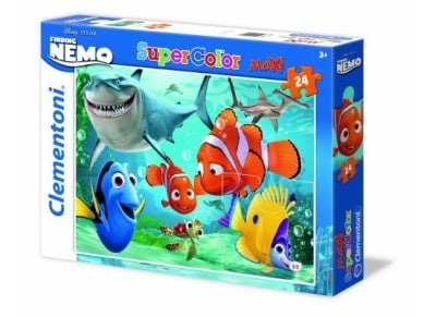 Puzzle Clementoni Super Color Disney-Nemo 24 Maxi Κομμάτια