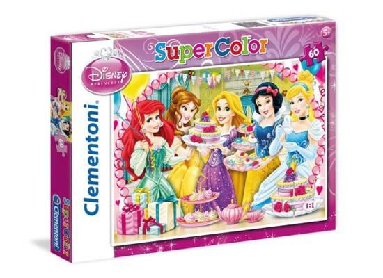 Παζλ Princess Royal Tea Party Super Color Disney (60 Κομμάτια)