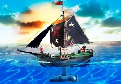 PLAYMOBIL 5238 Πειρατικό Καράβι με Τηλεκατευθυνόμενο Υποβρύχιο