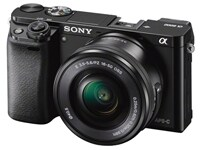 Mirrorless Camera Sony α6000 Kit 16-50mm Μαύρο
