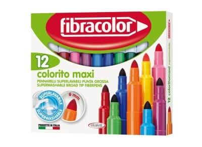 Μαρκαδόροι Ζωγραφικής Etafelt 630SW012SC Colorito Maxi (12 Τεμάχια)