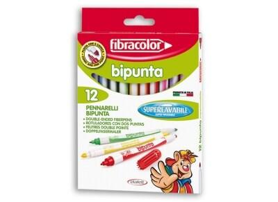 Μαρκαδόροι Ζωγραφικής Etafelt 544SW12S Bipunta 12 Τεμάχια