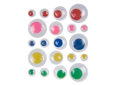 Ματάκια Χειροτεχνίας I-Mondi 10030902 Χρωματιστά 75 Τεμάχια