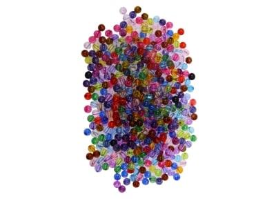 Χάντρες I-Mondi 10320003 Πλαστικές Χρωματιστές 450 Τεμάχια