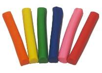 Πλαστελίνη Kiddy Clay 6 Τεμάχια 100 gr