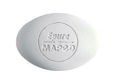 Γόμα Maped - Λευκό - Οβάλ 010050 Epure (1 Τεμάχιο)