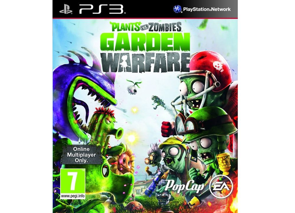Plants vs zombies garden warfare ps3 game for Plants vs zombies garden warfare xbox one