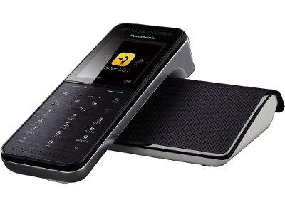 Ασύρματο Τηλέφωνο Panasonic KXPRW110GRW Ασημί